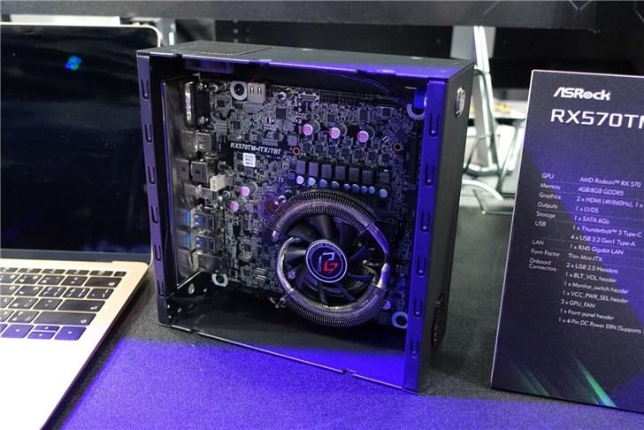 华擎发布RX570外接显卡:自带雷电3和有线网口