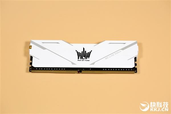 影驰HOF OC Lab Master DDR4 4000内存图赏