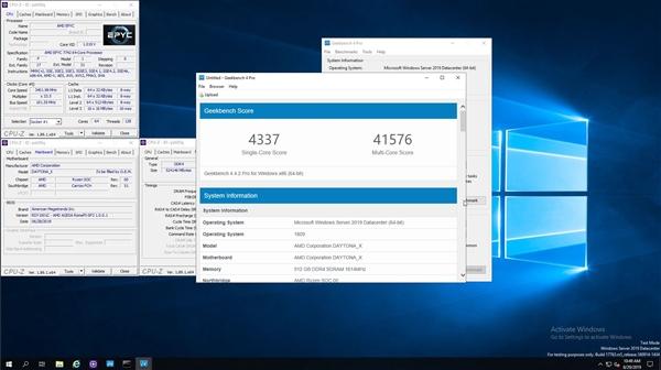 AMD二代霄龙跑分公布:双路256线程大战四路224线程