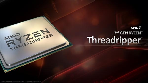 AMD三代线程撕裂者正式发布:24核起步破万元