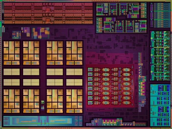 AMD 7nm锐龙APU内核玉照首次公开!CPU八核心、GPU八核心