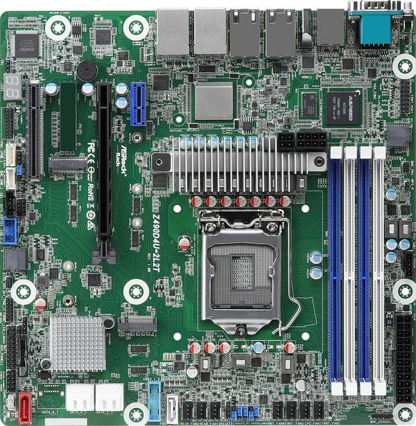 不愧是妖板之王 华擎Z490主板集成5个网卡:双10Gbps