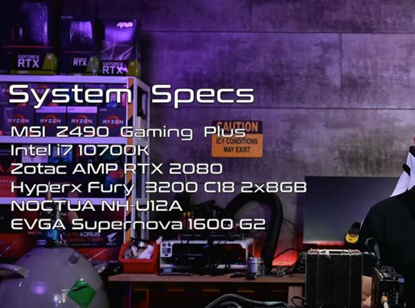 被动散热撑住8核5.1GHz 高玩挑战酷睿i7-10700K无风扇玩游戏