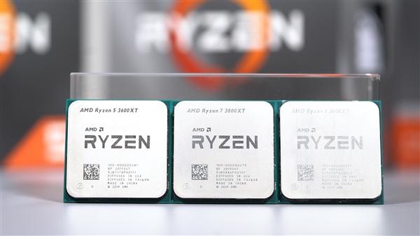 AMD超频神U!锐龙9 3900XT、锐龙7 3800XT鸡血版首发开箱!