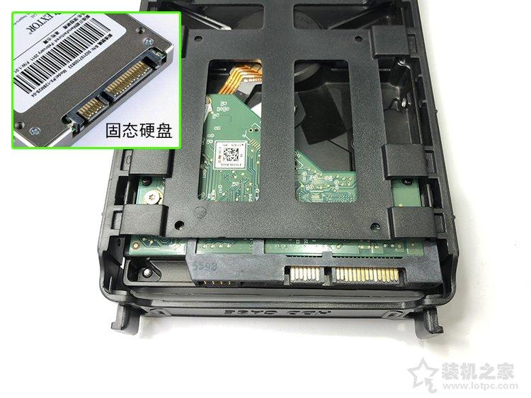 台式机硬盘怎么安装?机械硬盘安装图解教程(SATA固态同理)