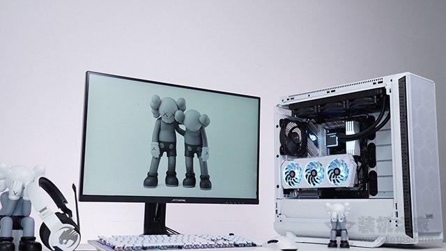装台白色主题高端主机!11代i9 11900K配RTX3080Ti电脑配置方案